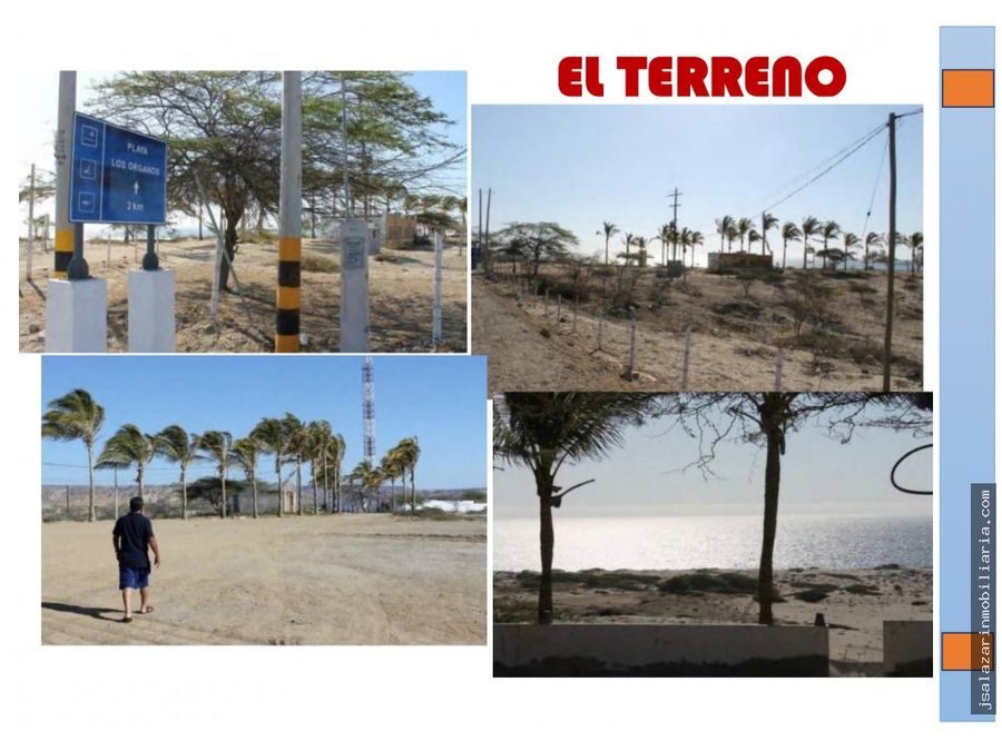 terreno de playa proyecto inmobiliario vichayito sur 5 has