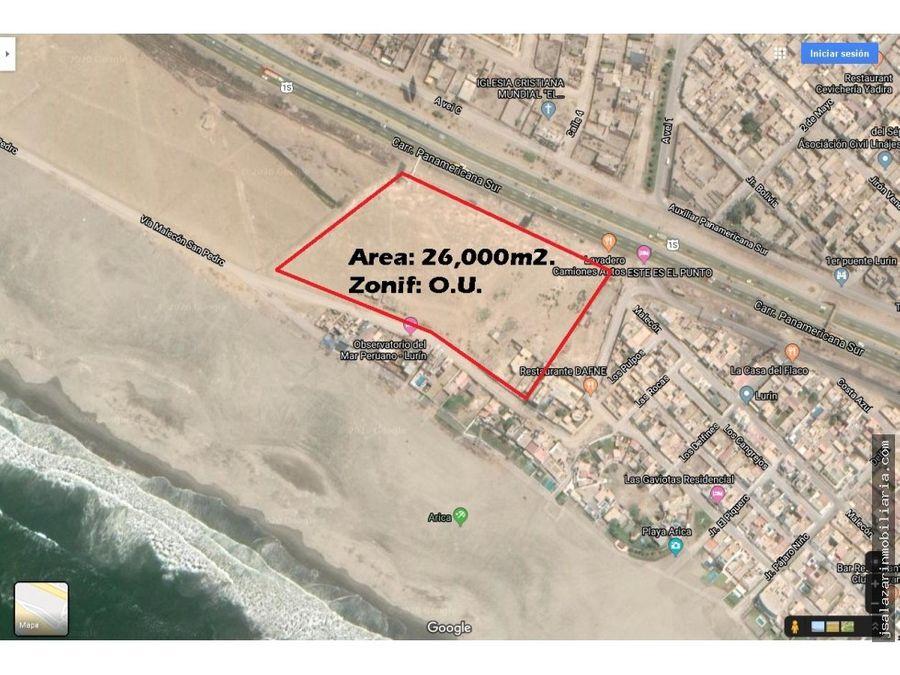 terreno comercial residencial 260 has lurin lima
