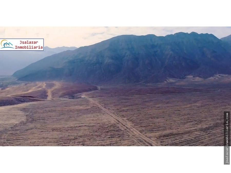 terreno agricola fundo real felipe 100 has supe barranca