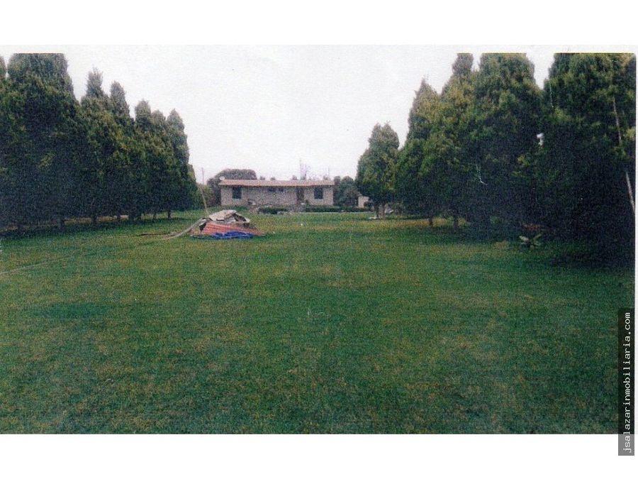 casa campestre de 5385 m2 en el valle de lurin