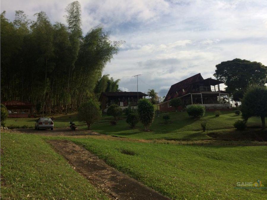 venta casa campestre kilometro 30 sector ambichinte