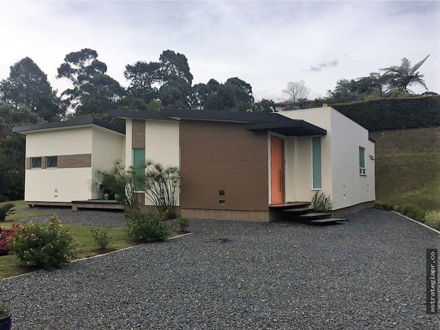 venta de casa campestre en llanogrande rionegro