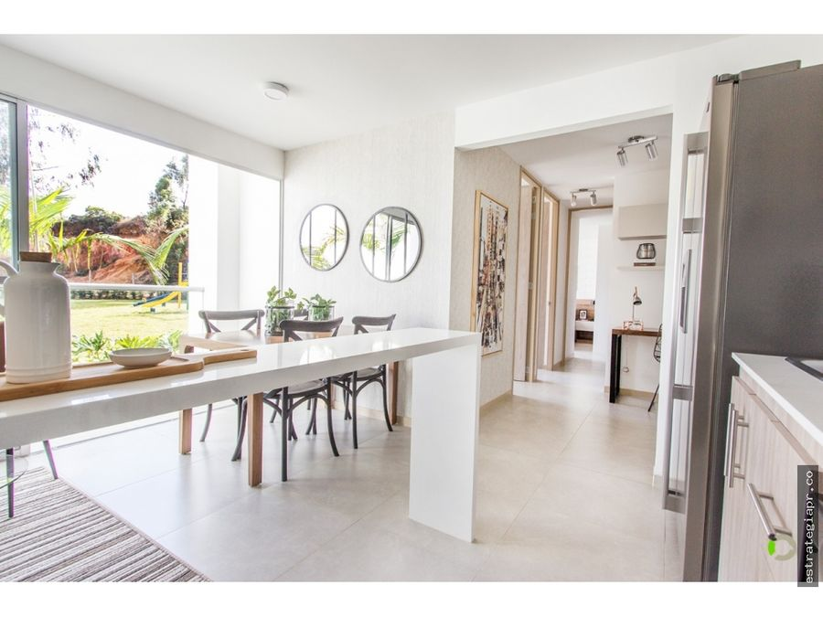 venta de apartamento en rionegro zona campestre y tranquila