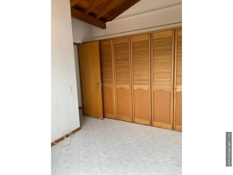 venta de apartamento en la loma del escobero