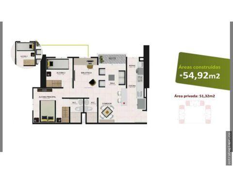 venta de apartamento en la tablaza