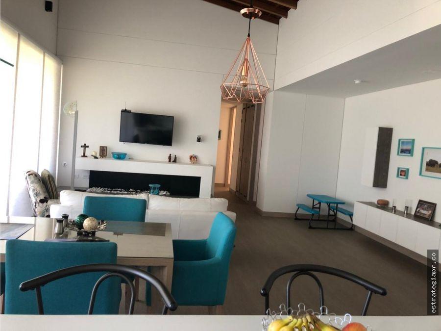 venta de moderno apartamento en llanogrande rionegro