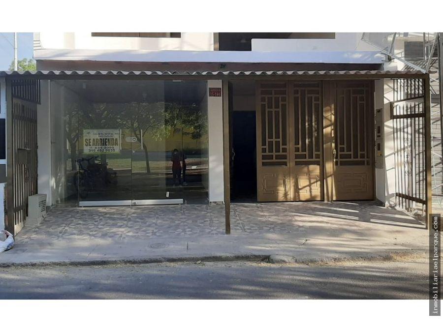 hermosa casa con local frente a homecenter