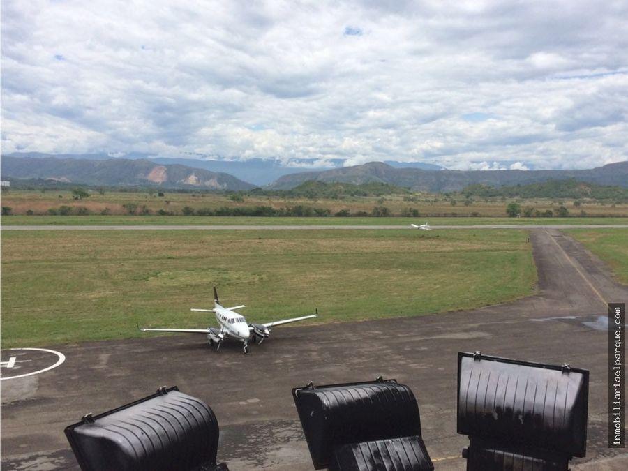 se vende lote cerca al aeropuerto santiago villa