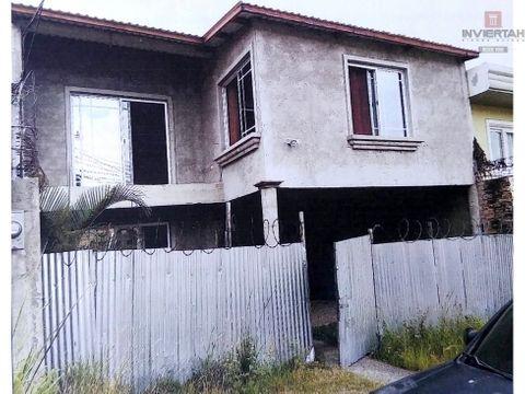 casa en obra gris roble oeste