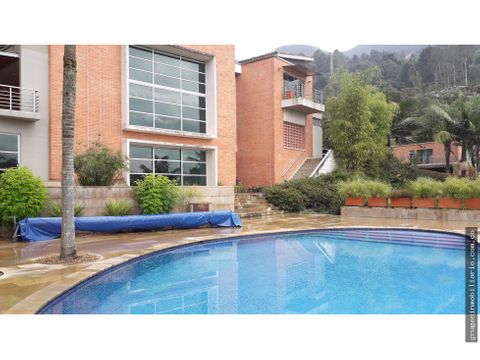 casa con piscina en los balsos