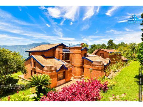 copacabana hermosa casa campestre de lujo