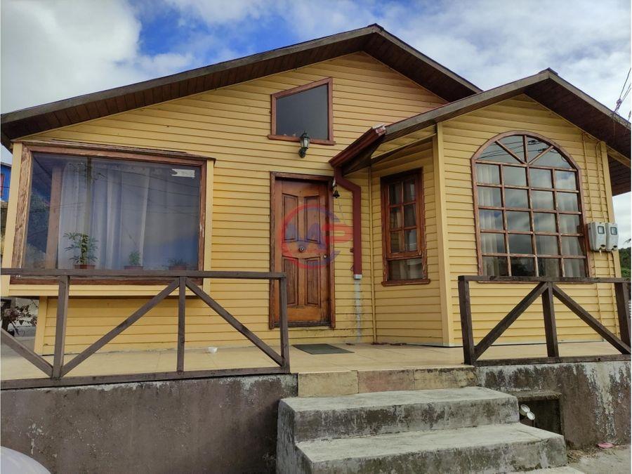 propiedades en dalcahue chiloe 3 casas habitaciones