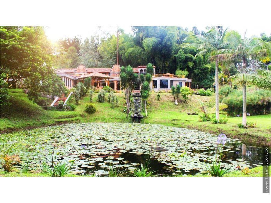 venta o renta finca hermosa aldea quimbaya en pereira