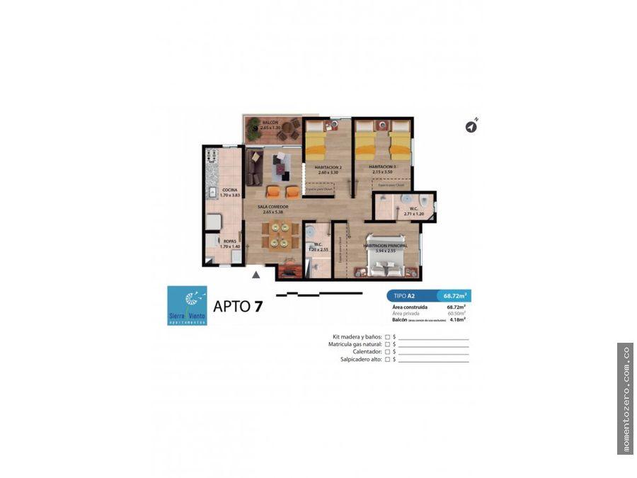 venta apartamentos sierra viento pereira