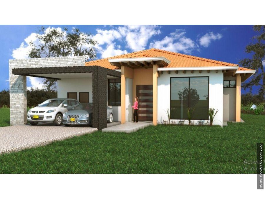 venta casas camprestres condominio via armenia 5 min de pereira