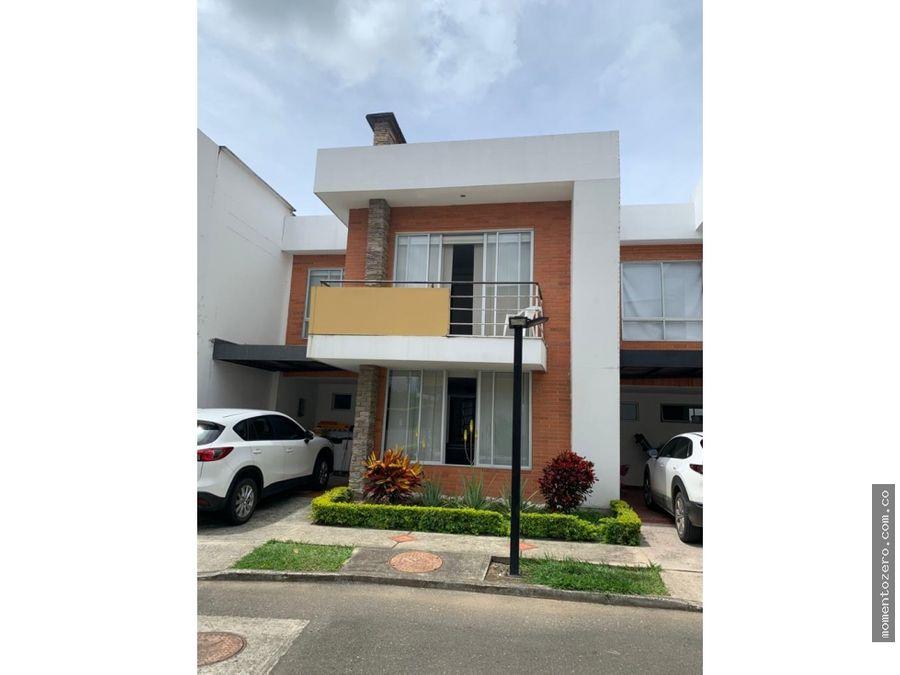 venta hermosa casa cerca villa olimpica pereira