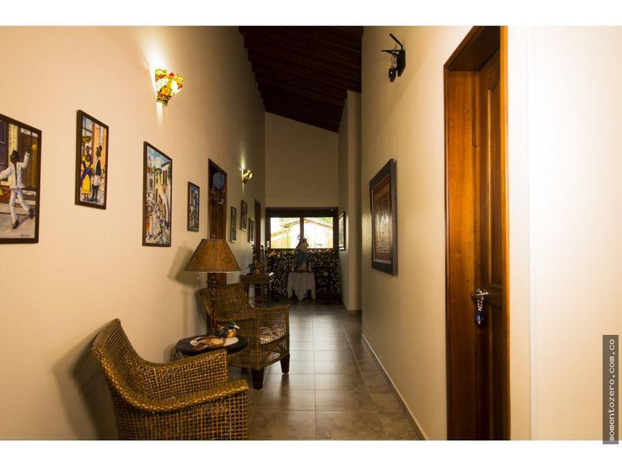 venta hermosa casa campestre via condina