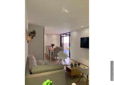 venta apartamento de 2 habitaciones en pinares pereira