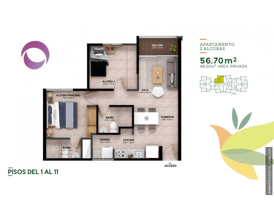 venta apartamentos sector mercasa pereira