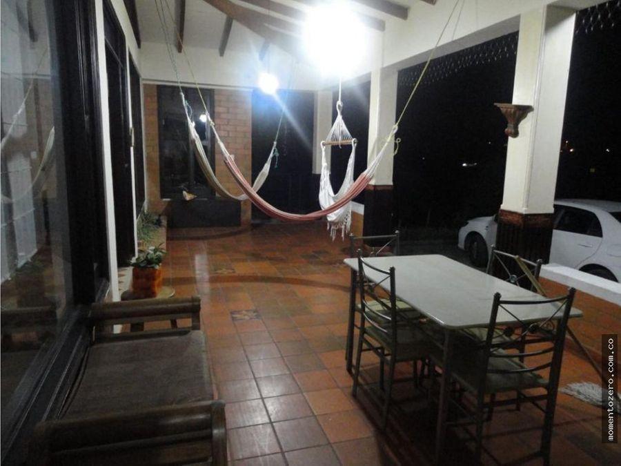 venta casa campestre via armenia