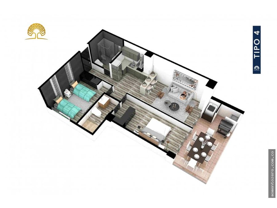 venta apartamento la quinta club house pereira