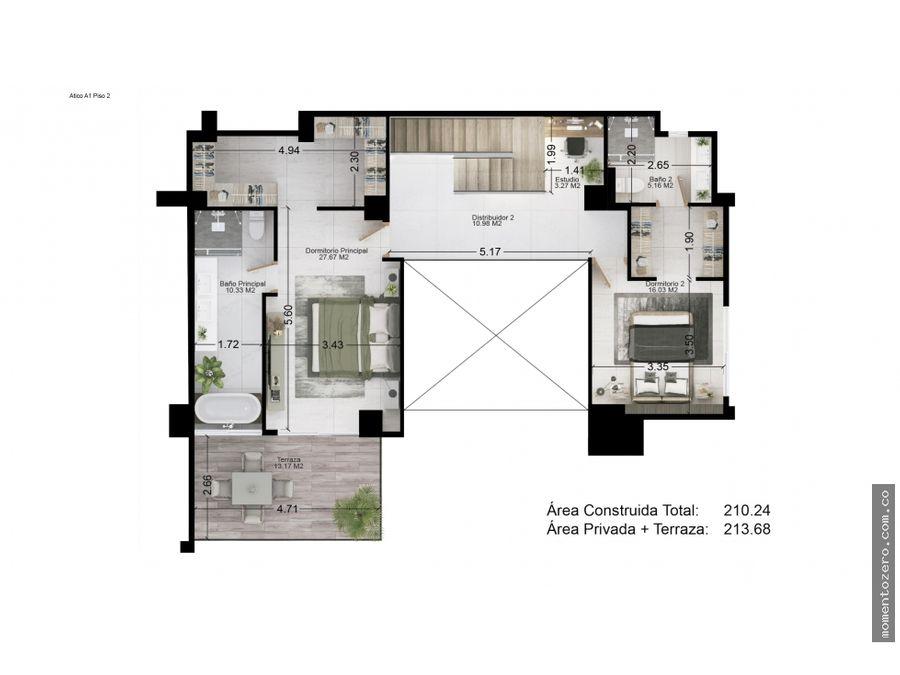 venta exclusivo penthouse pereira
