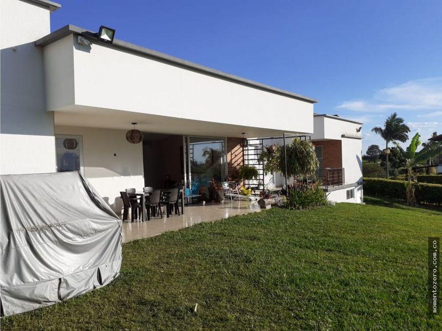 venta hermosa casa campestre via condina armenia