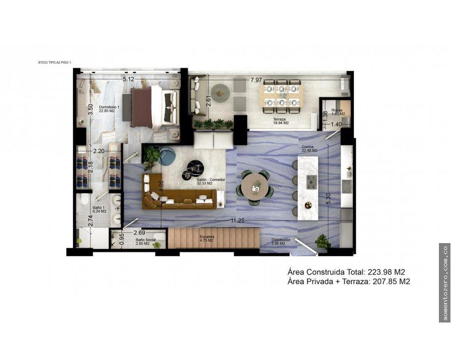 venta penthouse central pereira