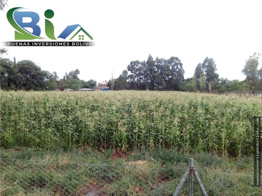 us35 cm2 lote agricola en zona urbana mallcorancho norte