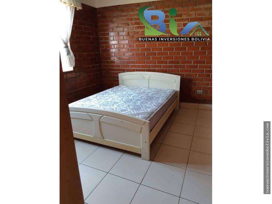 us280 departamento 2 dorm prox av juan de la rosa hipermaxi