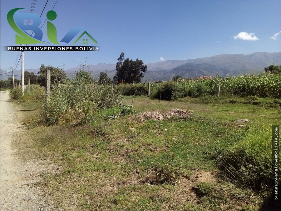us63812 lotes urbanos sup256m2 prox av ecologica tiquipaya