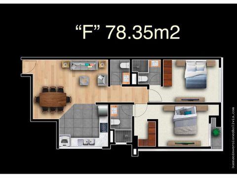 us 72000 departamento 2 suites 78m2 cala cala