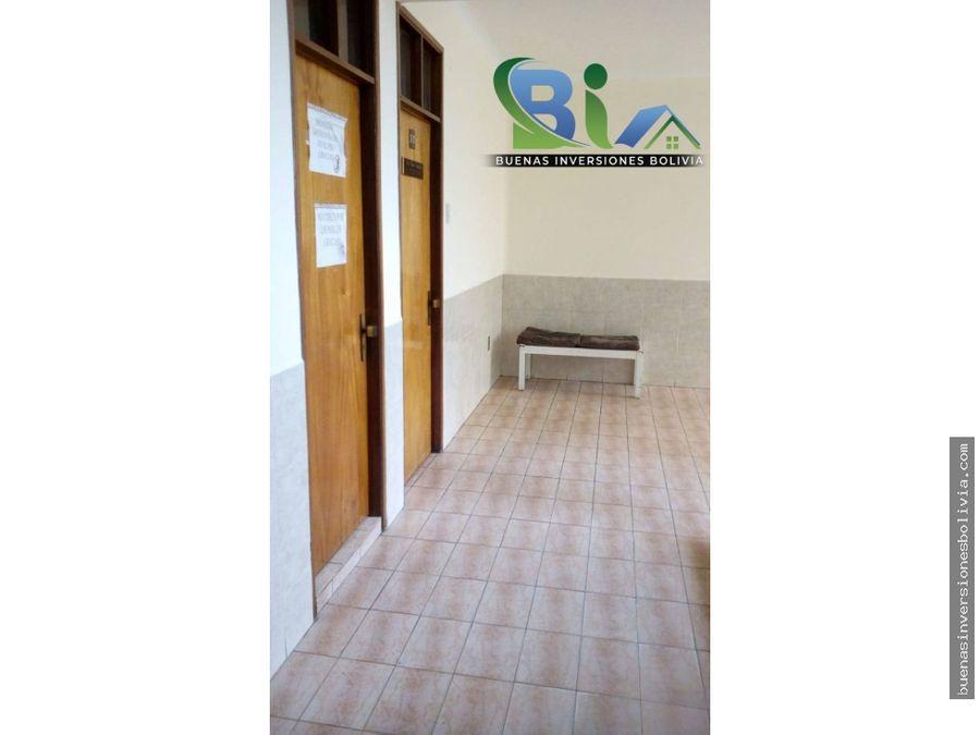 edificio 4 tiendas 29 oficinas con bano privado cu zona central