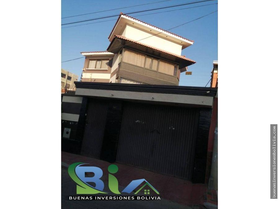 us90000 anticretico casa independiente km 5 zona seminario