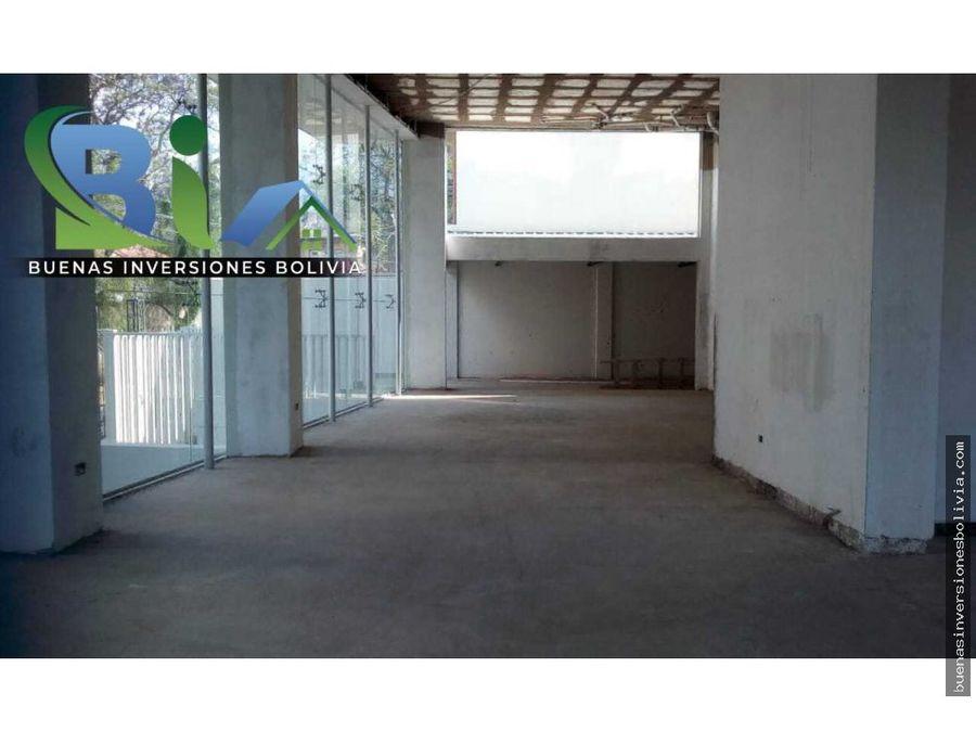 local comercial 200 m2 sobre parque fidel anze