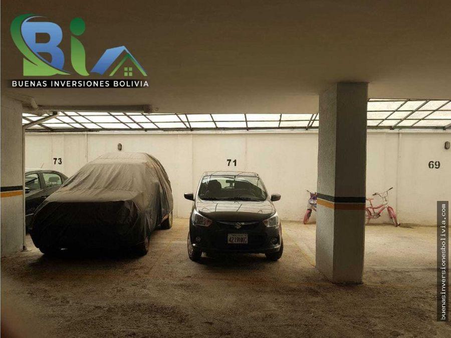 us97000 departamento garaje zona muyurina