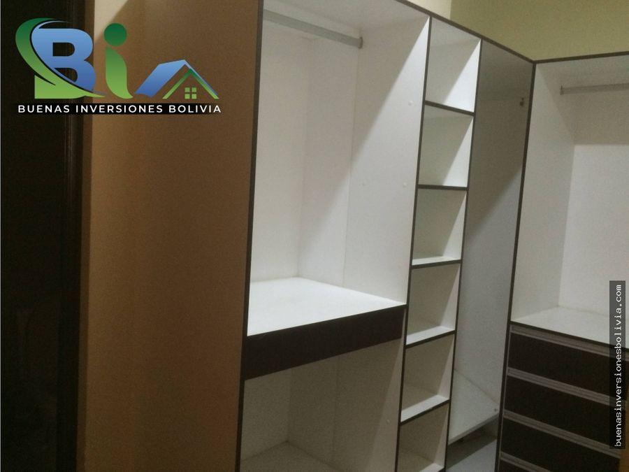 bs2500 departamento 2 dorm escritoriogaraje zona sarco