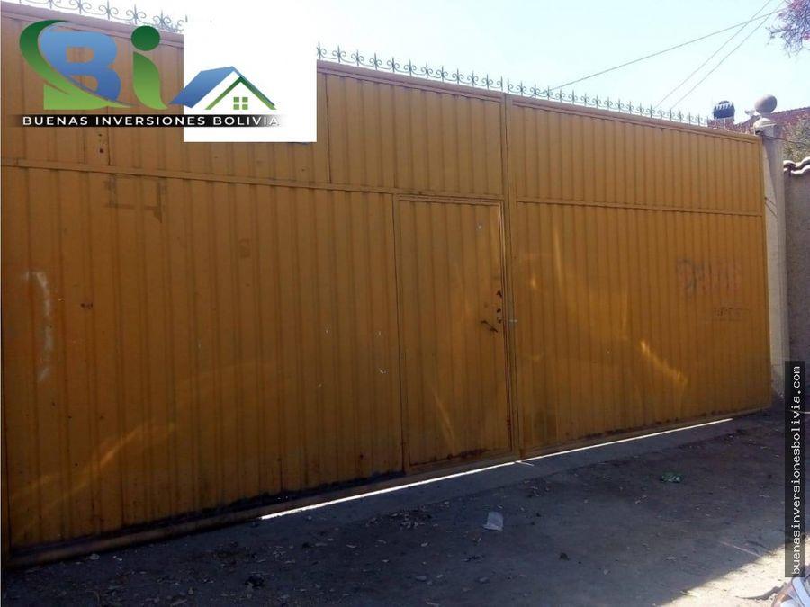 us 800 propiedad comercial1530m2 prox plaza principal quillacollo
