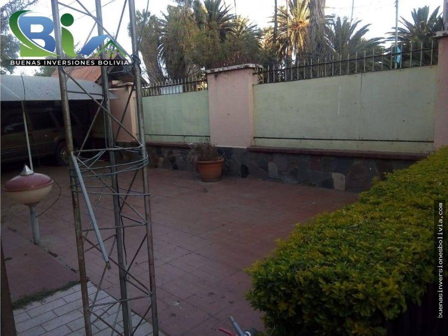 us750 cm2 casa a precio de lote sup1390m2 av juan de la rosa