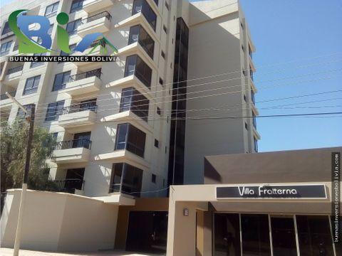 us46000 departamentos 123 dorm villa fratterna zona tiquipaya