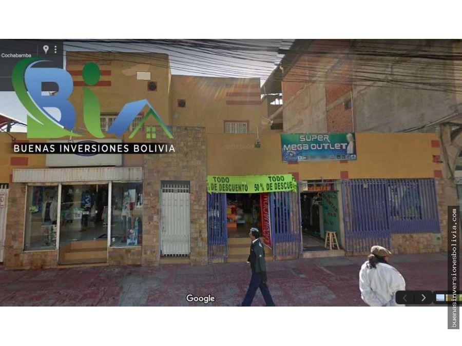 bs2200 local comercial sobre calle prox ayacucho