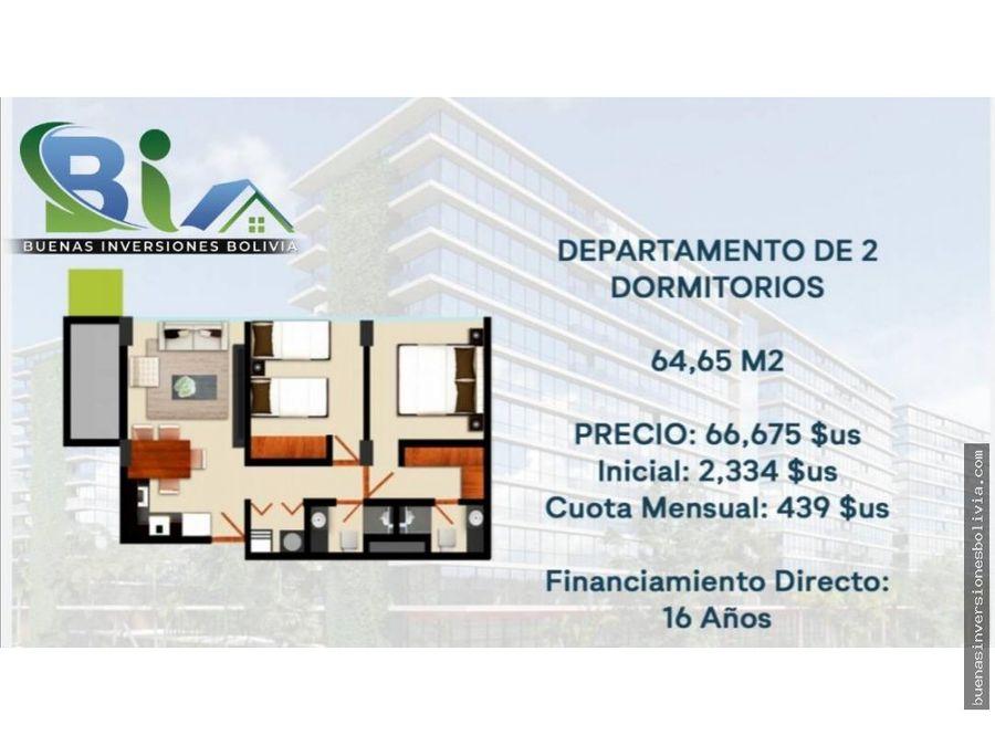 departamentos 12 y 3 dormitorios credito directo