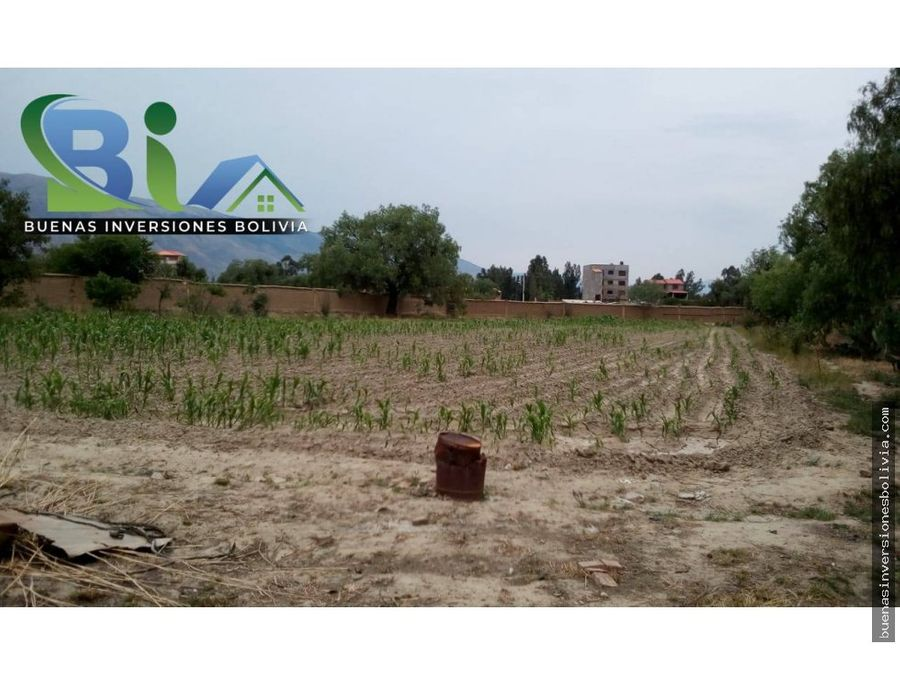 us74 cm2 lote agricola sup3527m2 zona urbana el paso quillacollo
