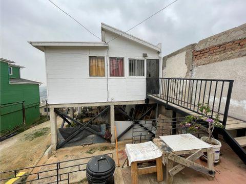 casa en venta en valparaiso cerro el litre paradero 8