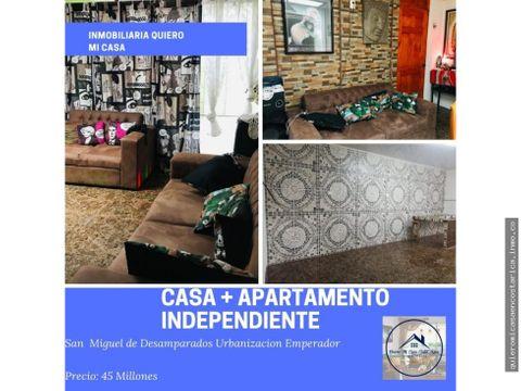 casa apartamento independiente san miguel de desamparados