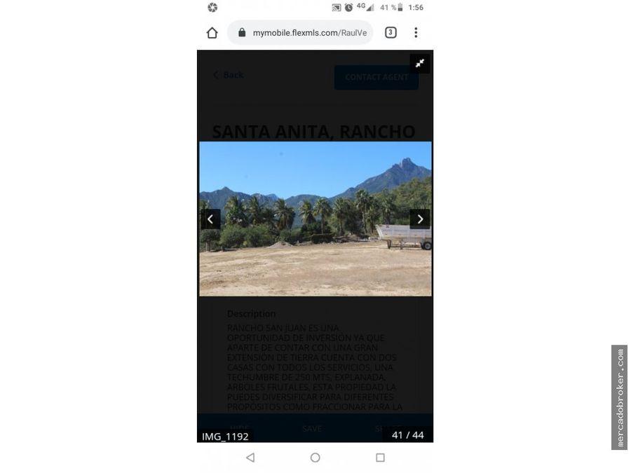 san jose del cabo santa anita rancho san juan