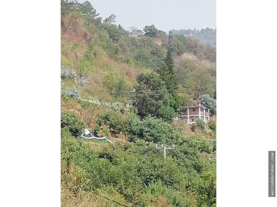 venta de terreno en tenancingo con uso de suelo h 500 a