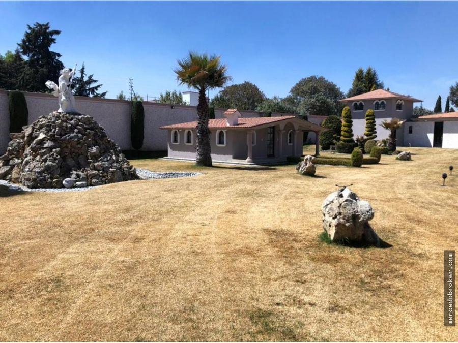 mega residencia en ex haciendas de cacalomacan