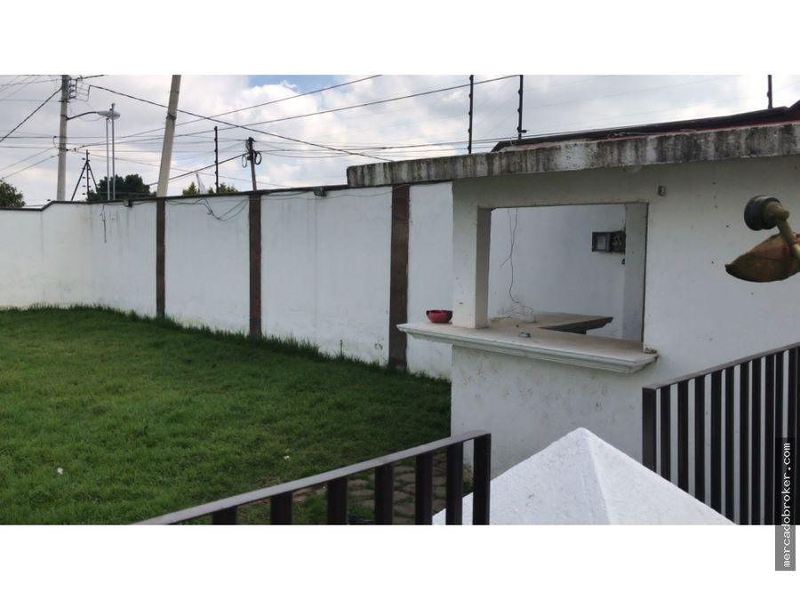 preciosa residencia en venta en ex haciendas de cacalomacan