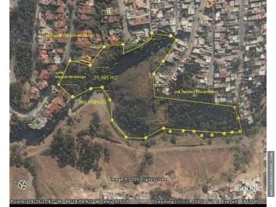 venta de terreno en bosques de quiroga huixquilucan